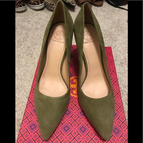 f62d166d98 Tory Burch Shoes | Suede Heels | Poshmark